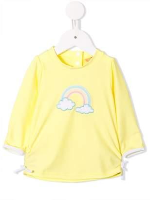 Sunuva rainbow embroidered rash vest