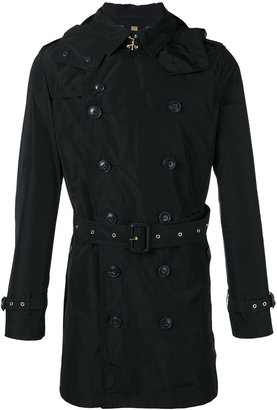 Burberry belted midi trench coat $871.92 thestylecure.com