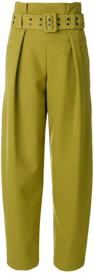 Emilio Pucci high-waisted wide-legged trousers