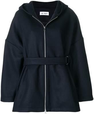 Barena zipped hooded coat