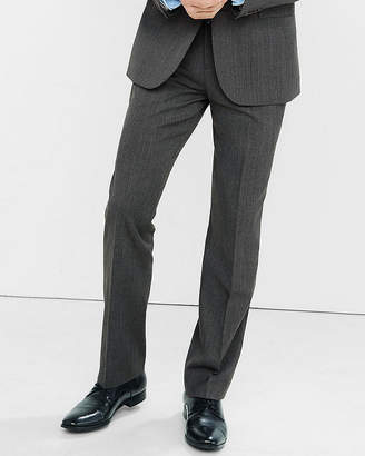 Express Classic Gray Wool Blend Twill Suit Pant