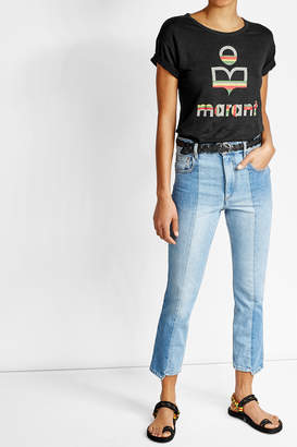 Isabel Marant toile High-Rise Straight Jeans