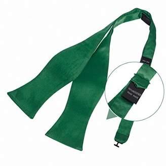 IDEA Dim Grey Solid Cheap Woven Microfiber Self Tie Bowtie Hanky Cufflinks Set Easter Presents By Dan Smith