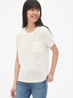 Gap Crewneck Pocket Sweater