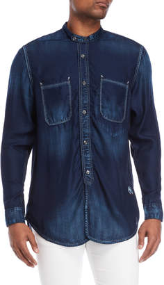 PRPS Blue Beach Tencel Shirt