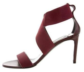 Balenciaga Elasticized Crossover Sandals