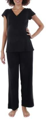 Everly Grey Serena Maternity Sleepwear Set