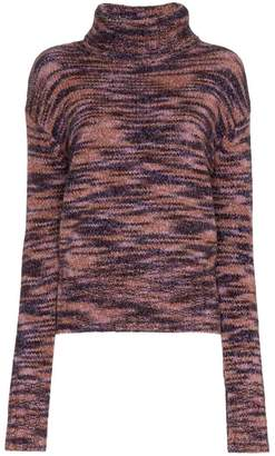 Parker Sies Marjan turtle neck wool silk blend jumper