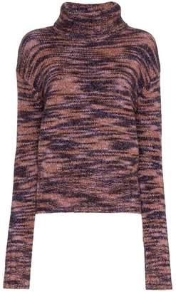 Parker Sies Marjan turtle neck wool silk blend jumper