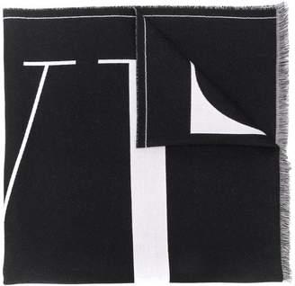 Valentino logo scarf