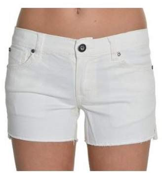Vigoss Big Girls Cut Off Shorts (White,)