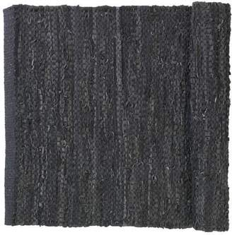 Blomus CARPO Large Woven Leather Area Rug