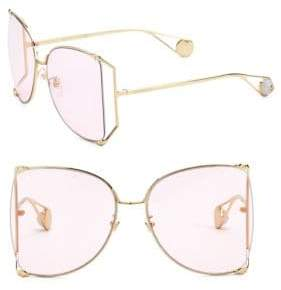 Gucci 63MM Butterfly Sunglasses