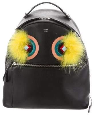 Fendi Leather Monster Backpack
