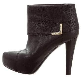 Louis Vuitton Leather Ankle Boots