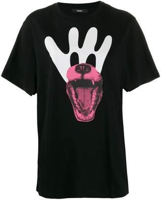 Diesel loose-fit printed T-shirt