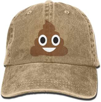 6318ff6e6f4 at Amazon Canada · Therine Poop Emoji Adult Denim Dad Solid Baseball Cap Hat