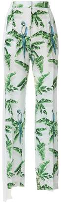 Stella McCartney Halle Paradise print trousers
