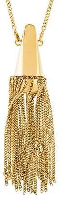 Chloé Tassel Pendant Necklace