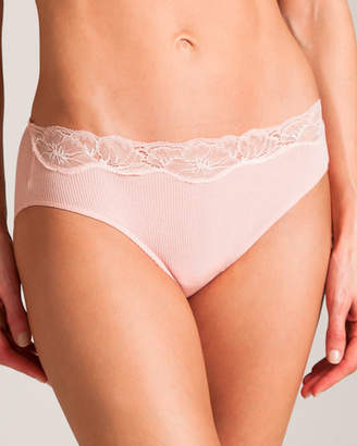Hanro Lace Delight Hi Cut Brief