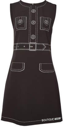 Moschino Printed Mini Dress