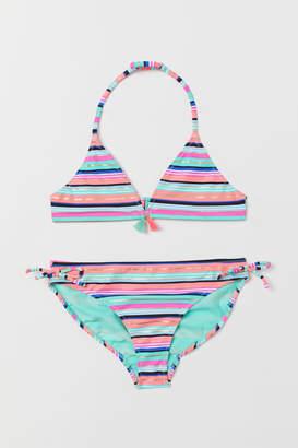 H&M Striped bikini