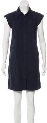 MICHAEL Michael Kors Cap Sleeve Mini Shirtdress