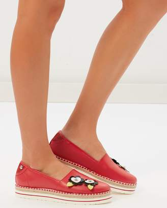 Love Moschino Petal Loafers
