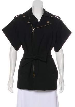 RED Valentino Wool Short Sleeve Jacket