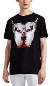Marcelo Burlon County of Milan MEN'S DOG COTTON T-SHIRT