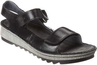 Naot Footwear Zinnia Wedge Leather Sandal