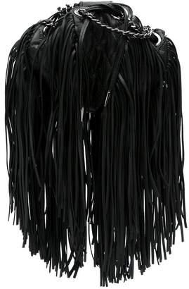 Andrea Bogosian fringed leather bag