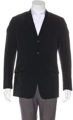 Prada Twill Three-Button Blazer