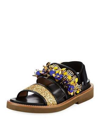 discount sale online Marni Embellished Thong Sandals sale free shipping 7jzuqO