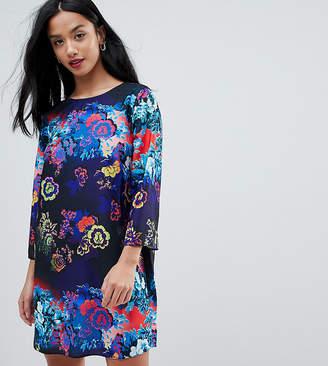 Asos Floral Print Mini Shift Dress