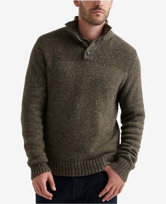 Lucky Brand Men Henley Sweater