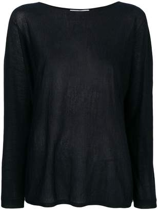 Max Mara boat-neck jumper