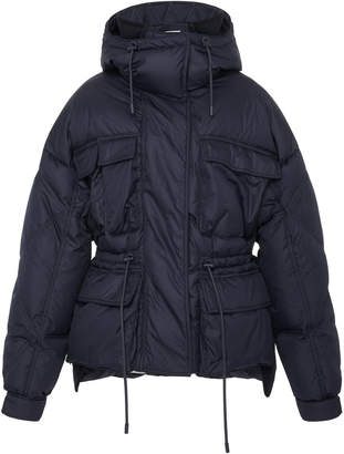 Sportmax Ottavia Quilted Shell Hooded Puffer Jacket