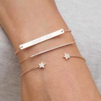 Bloom Boutique Personalised Perri Bar Bracelet Set