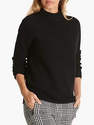 Betty Barclay Ribbed High-Neck Jumper