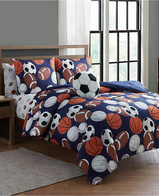 Sanders Lets Play 7 Pc Full Comforter Set Bedding