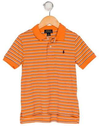 Polo Ralph Lauren Boys' Stripe Collared Shirt w/ Tags