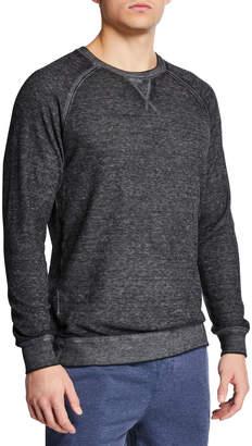 Joe's Jeans Men's Vintage Wash Thermal Sweatshirt