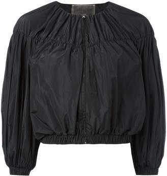 Giambattista Valli cropped ballon sleeve jacket