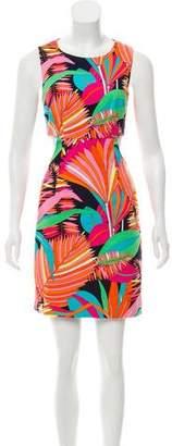 Trina Turk Open Back Mini Dress
