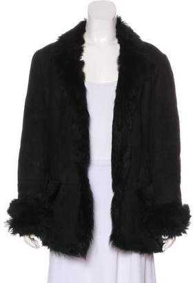 Gucci Short Shearling Coat