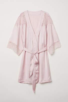 H&M Satin Kimono - Pink