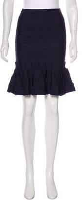 Herve Leger Cadi Ruffled Skirt w/ Tags