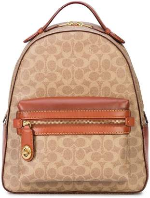 Coach signature canvas Campus backpack
