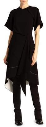 Proenza Schouler Asymmetric Draped Dress